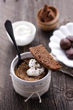 chestnut flan | The SWEET stuff | Pinterest