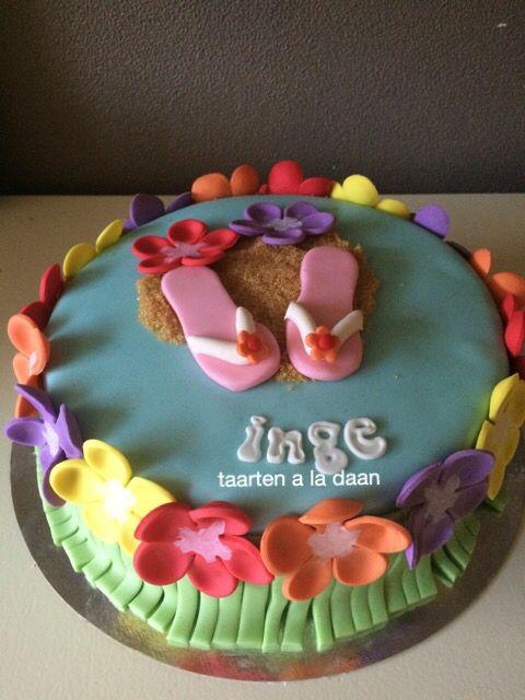 Hawaii taart Hawaii cake
