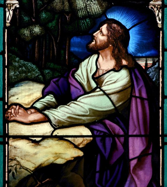 Christ In The Garden Of Gethsemane