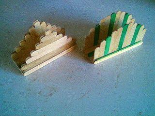 RVTS: Artesanato com palitos de picolé