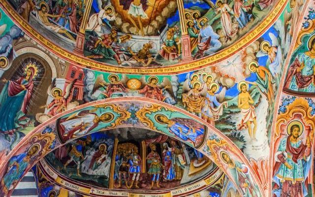 Arco del Monasterio de Rila III //Siglo X// Rila, Bulgaria