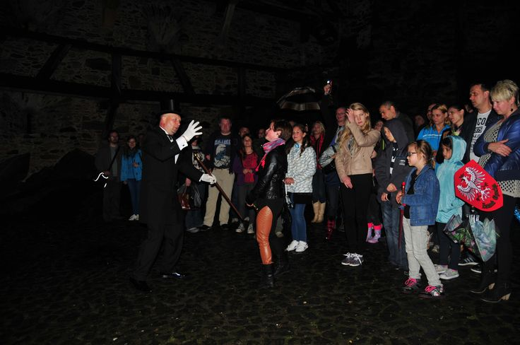 Nocne Zwiedzanie Zamku i Sali Tortur w Dniu Dziecka