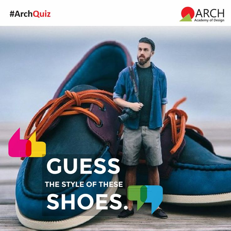 Guess what these classy shoes are called and tag friends who are fond of shoes. #ArchAcademyofDesign #ArchQuiz