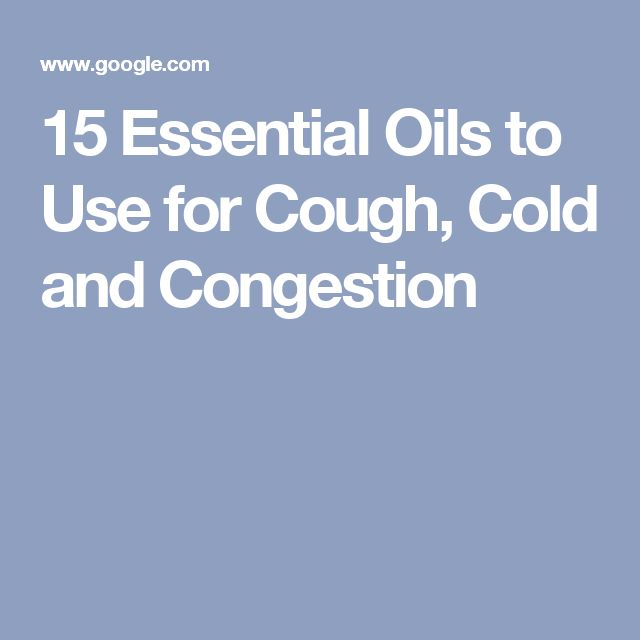 Natural Cures For Congestion In Babies
