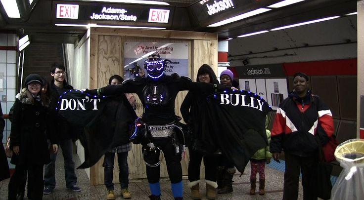 Photo 3 Chicago Thanksgiving parade subway 2010