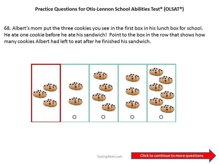 Olsat Level A Practice Tests Sample Questions Tips