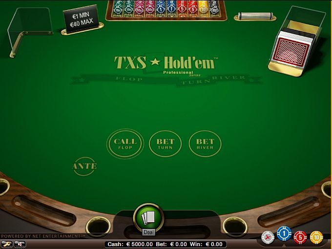 What comes after the flop in texas holdem