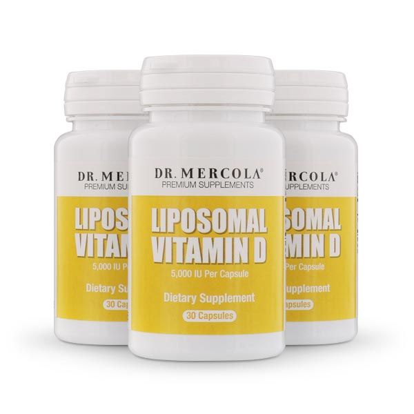 Dr. Mercola's Liposomal Vitamin D Supplement provides a practical and effective way to help you get the 5,000 IUs of vitamin D3 your body needs.* http://products.mercola.com/vitamin-d-supplement/