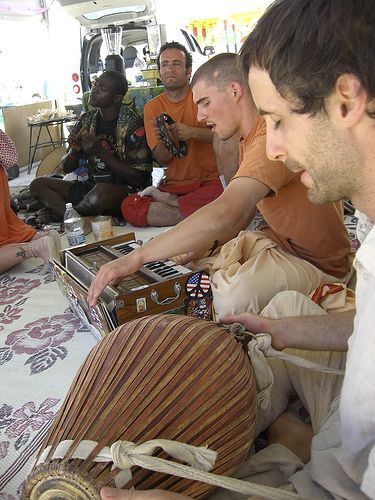 Kirtan at Krishna Camp :) The nectar that made the desert into an oasis