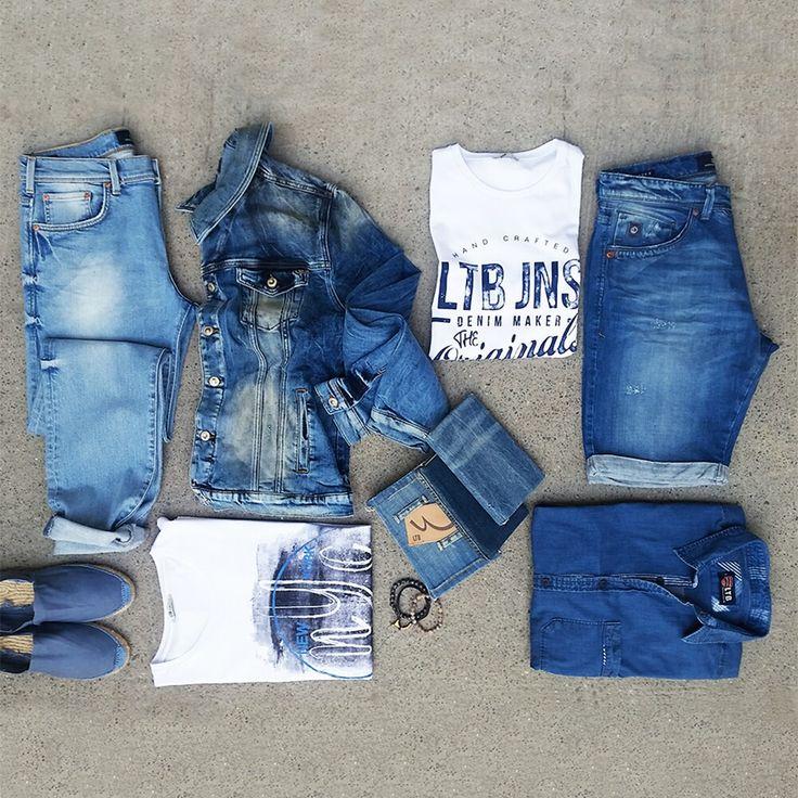 Denimin mükemmel uyumu.  #ltb #ltbjeans #stylish #jeans #style  #shopping #denimlook #indigo #denim #mensfashion #jeanshirt #jeanjacket #jeansort #instafashion  #photooftheday  #instagood #happy #design #model #picoftheday