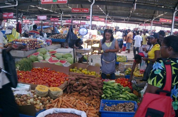 Jamaica Crafts Market Kingston Jamaica