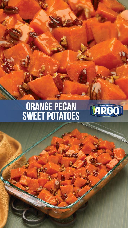 Orange Pecan Sweet Potatoes Karo Syrup Recipe Sweet Potato Pecan Sweet Potato Recipes Sweet Potato