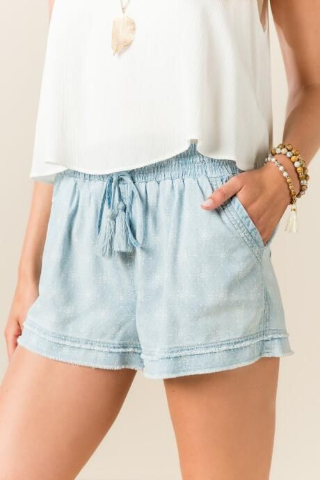 Walcott Chambray Shorts