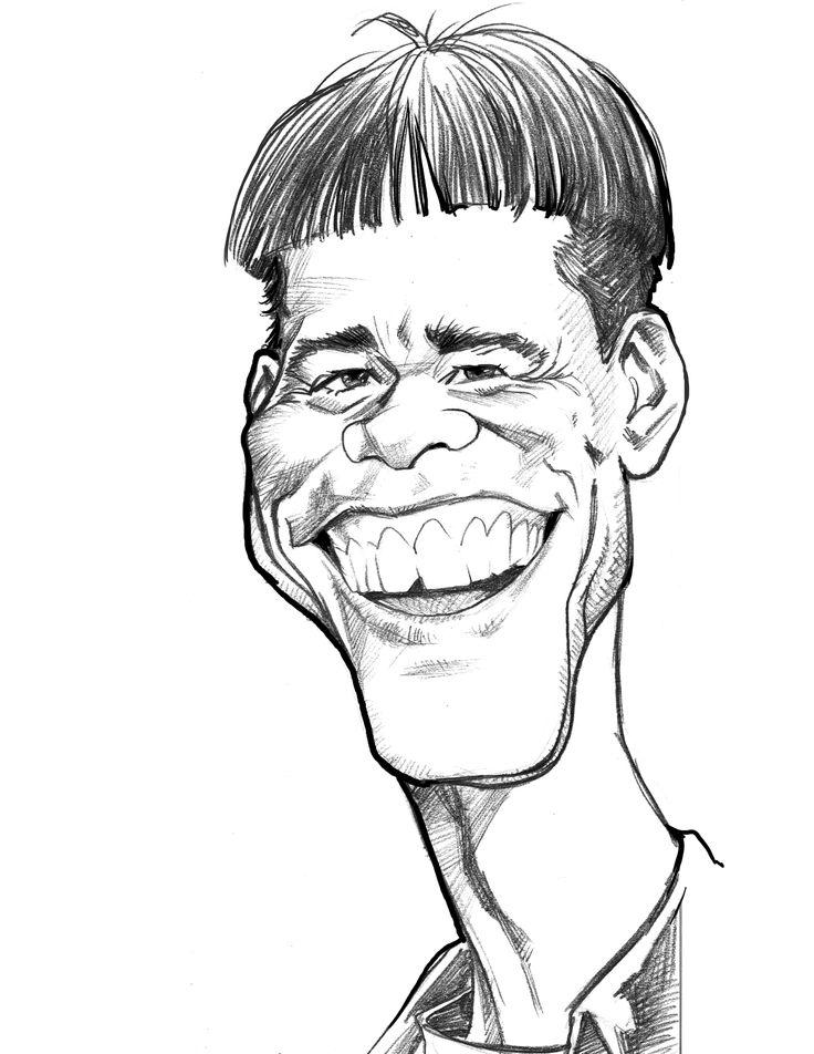 рисунки мужчин карандашом смешные применении профиля фотографии