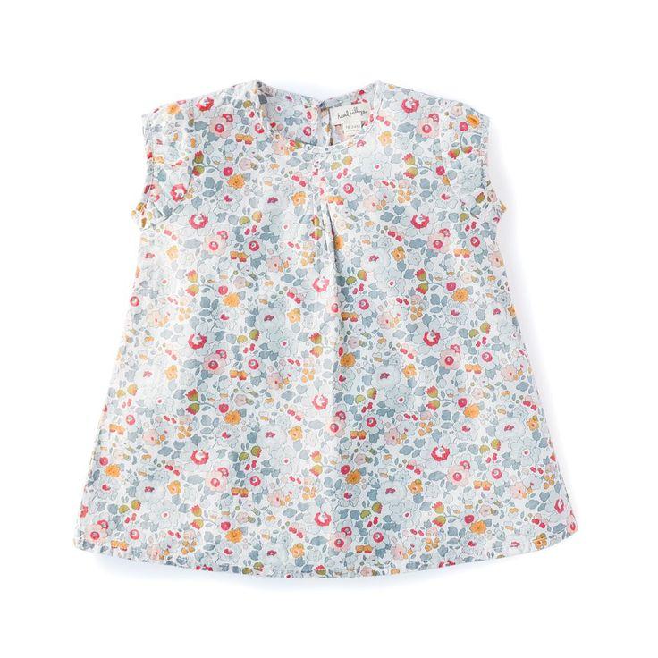 "Hazel Village   Liberty of London ""Sweet Rose"" Dress for Child"