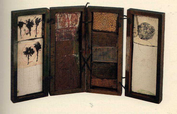 Hannelore Baron - mixed media assemblage box