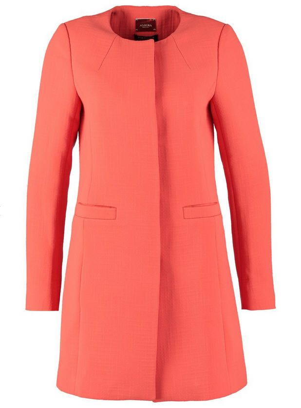 Manteau Femme Zalando, promo vetements Morgan, le Morgan Manteau court orange prix promo Zalando 150.00 €