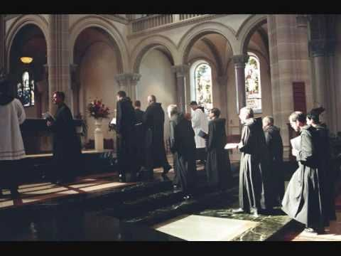 Salve Regina chanted, beautiful, from the Benedictine Abbey of Notre Dame de Fontgombault (Solemnes Congregation).