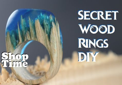 Have you seen these secret #wood rings? Here's how they might be made! This is just how he has decided to make them. What do you think? https://youtu.be/poNzkmOAL4k