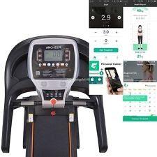 Electric Motorized Bluetooth MP3 Treadmill Machine Folding Running Gym Fitness01