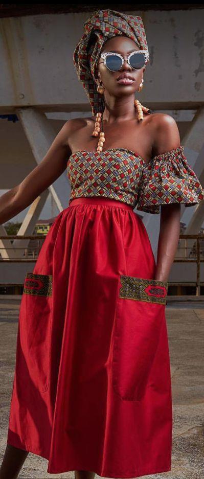 Ghanaian fashion label Nuna couture