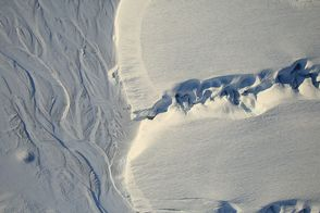 Meltwater Channels on Ellesmere Island : Image of the Day : NASA Earth Observatory