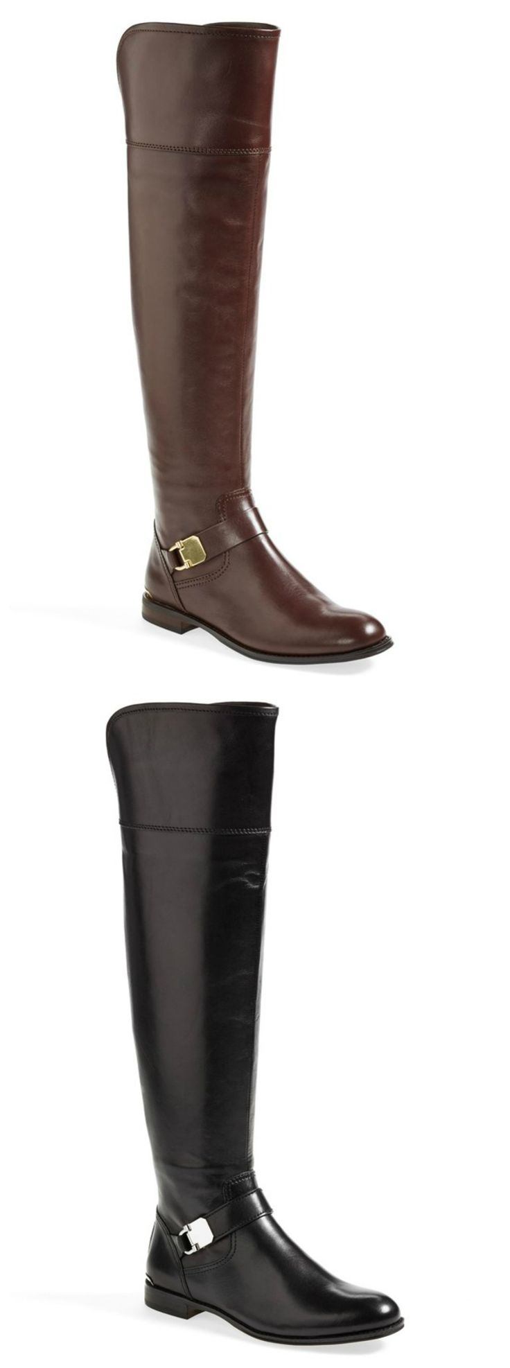 Absolutely love these Coach over the knee leather boots!