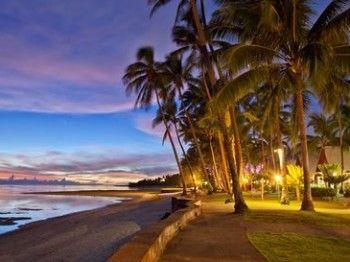 Fiji Hideaway Night Beach