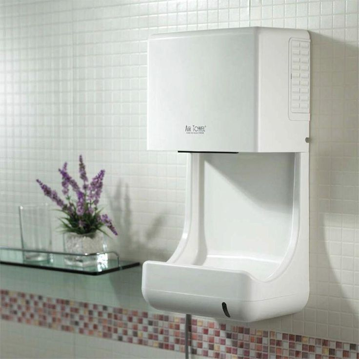 Towel Dryers Bathroom: Air Towel Electric Hand Dryer With Temperature Controlled