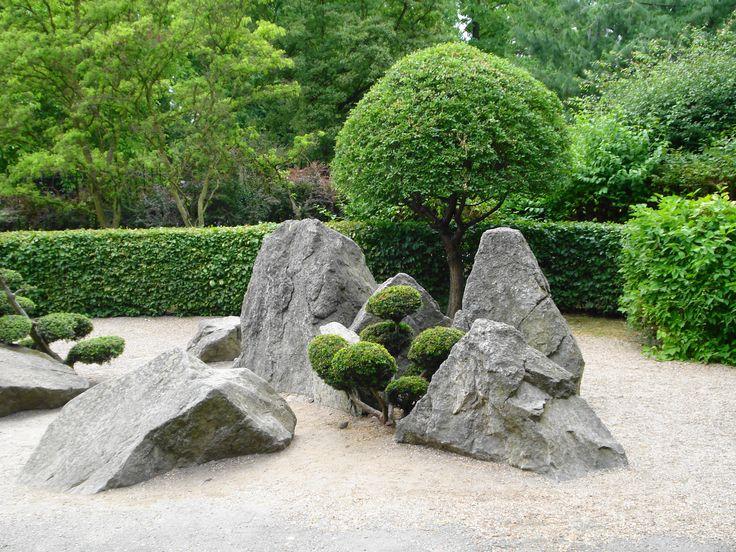 Kamienie i drzewka / The stones and trees | Ogród Japoński / Japanese Garden | Wrocław, Poland
