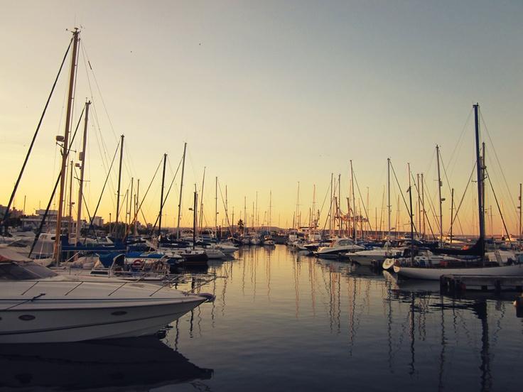 Larnaca Marina Sunset