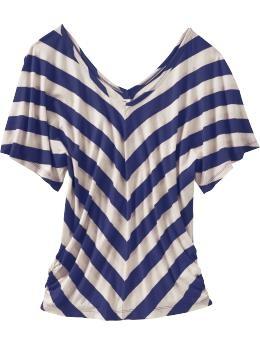 Cute cute shirt.: Chevronstrip Tops, Dreams Closet, Woman Chevronstrip, Chevron Tops, Chevron Blouses, Blue Stripes Shirts, Old Navy, Chevron Strips, Chevron Stripes