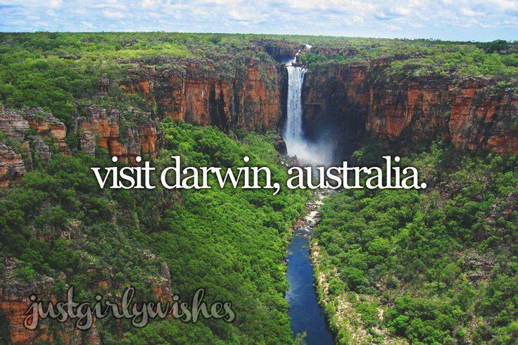 Bucket List: Visit Darwin, Australia