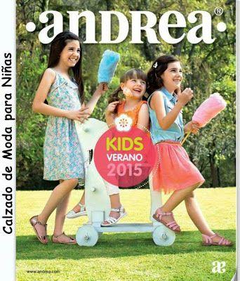 Andrea catalogo de zapatos de niñas Verano 2015