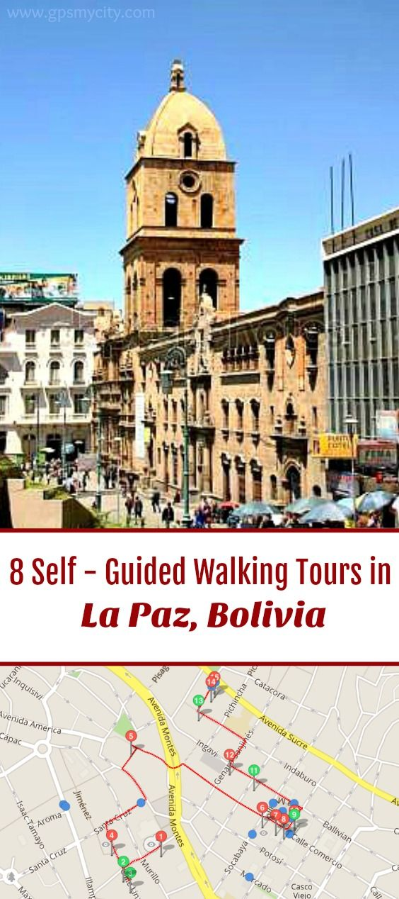 Follow these 8 expert designed self-guided walking tours in La Paz, Bolivia to explore the city on foot at your own pace. Each walk comes with a detailed tour map and together they are the perfect La Paz city guide for your trip.
