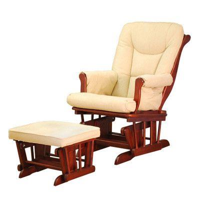 AFG Furniture Sleigh Glider and Ottoman GL7126,    #AFG_Furniture_GL7126
