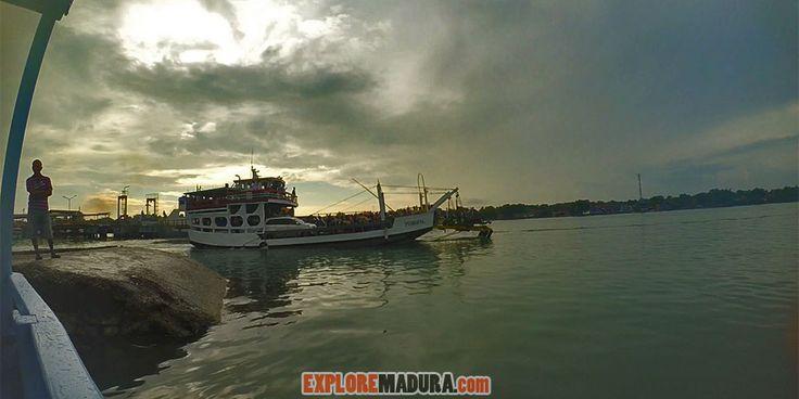 Dermaga Kalianget, Sumenep di Pulau Madura