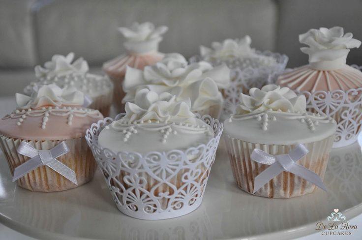 Vintage Hochzeits-Kuchen-