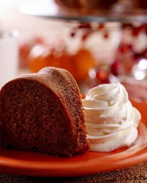 My Happy Dish: Spice Cake by David Venable