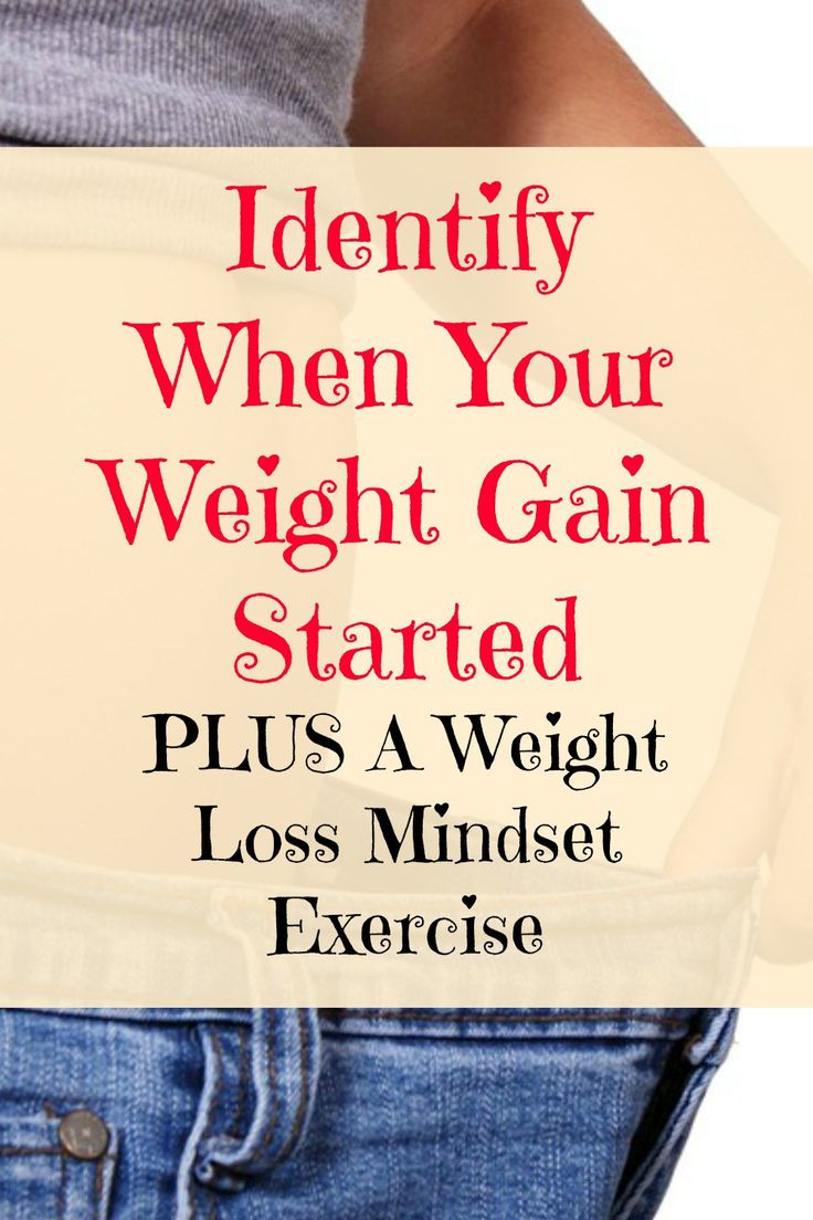 In this Weight loss mindset post, I want you to try and identify when your weight gain started and what was going on at that time. I've also included a fantastic mindset exercise for you to try.