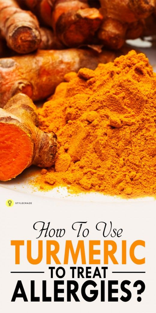 How To Use Turmeric To Treat Allergies?