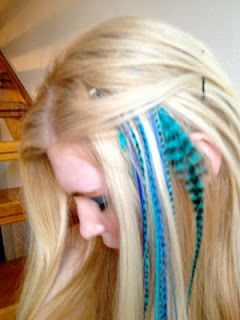 Lather Rinse Repeat tries out #Featherlocks in #Sydney, #hair