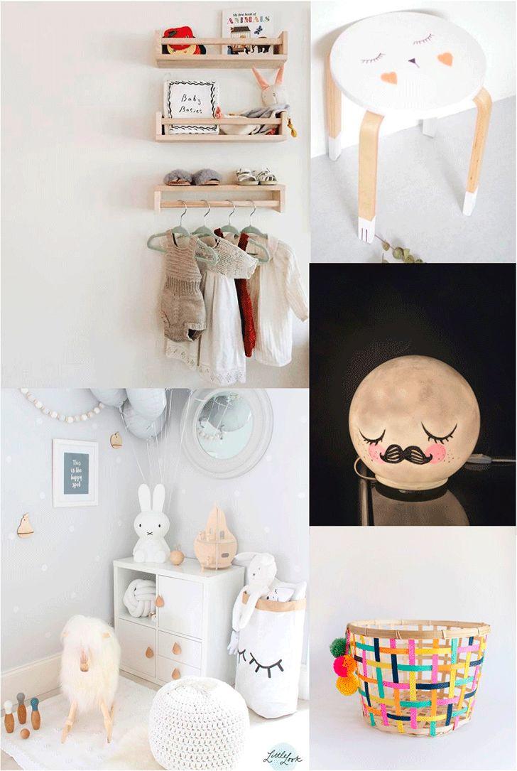 5 of the Cutest (and Easiest) Ikea Hacks for a Kids Room http://petitandsmall.com/5-cutest-easiest-ikea-hacks-kids-room/