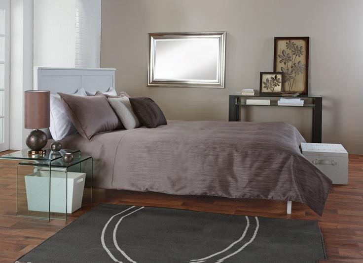 Decorating with taupe, cream, beige, brown & blue!  Décorez avec du taupe, crème, beige, brun et bleu!  www.bouclair.com