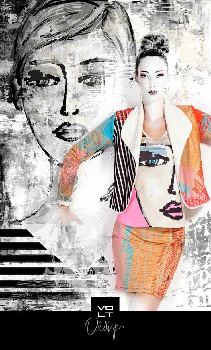 VOLT Design Top ODE 271 | Fun Fashion | Canada |