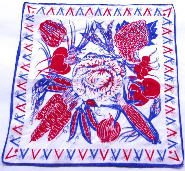 glamour girl vintage handkerchiefs