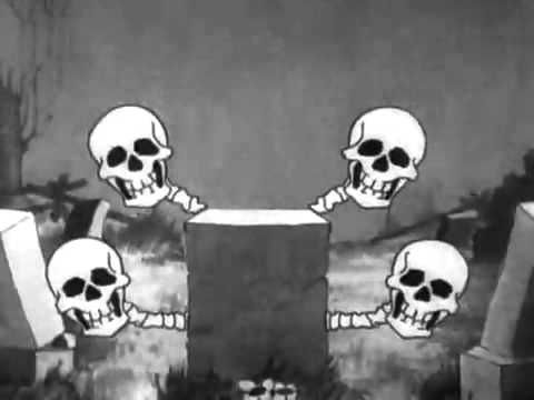 """Classic TV Moment—Disney's classic cartoon """"The Skeleton Dance"""" from 1929"""
