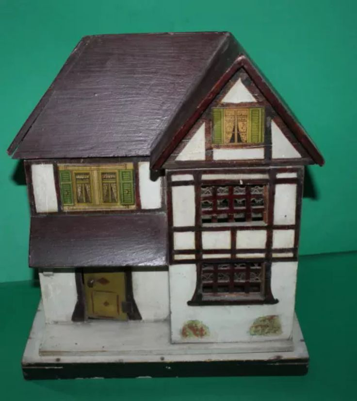 54 Best Old German Dolls Houses Images On Pinterest