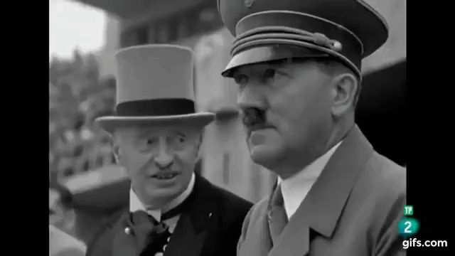 Adolf Hitler in the summer of 1936 and the Berlin Olympics.