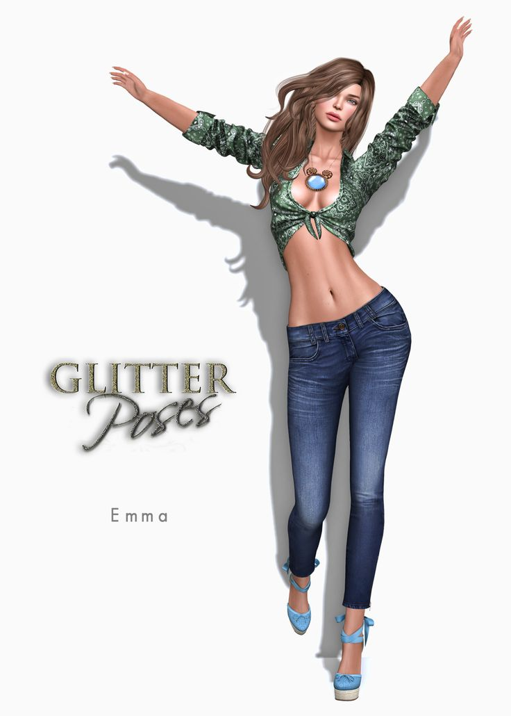 Glitter Fashion & GLITTER Poses GP - Exclusives at SWANK May: http://maps.secondlife.com/secondlife/Spring%20Retreat/172/177/3003